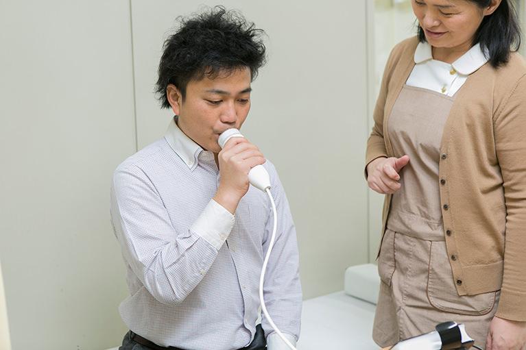 呼気中一酸化窒素濃度測定器
